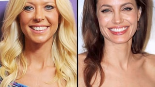 Tara Reid and Angelina Jolie