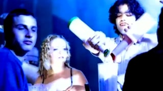 Melissa Joan Hart and Adrien Grenier