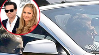 Jennifer Lopez, Casper Smart Spotted Hanging Out Together Two Months After Splitting -- See the Picture!