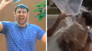 John Krasinski, Emily Blunt Take on ALS Ice Bucket Challenge: Cutest Video Yet