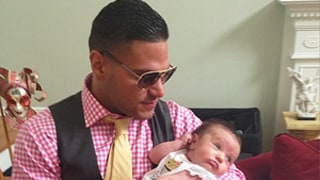 Jersey Shore's Ronnie Ortiz-Magro Cradles JWoww's Baby Daughter After Split From Sammi
