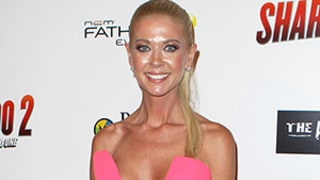 Tara Reid Shows Off Skinny Body in Jaw-Dropping Plunging Neckline Crop Top at Sharknado 2 Premiere