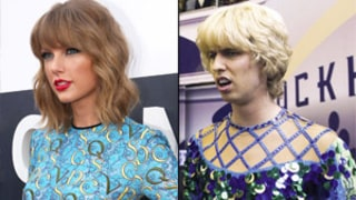 Taylor Swift Looked Like Jon Heder in Blades of Glory at MTV VMAs