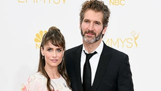Amanda Peet Is Pregnant With Third Child, Debuts Bump on Emmy Awards 2014 Red Carpet
