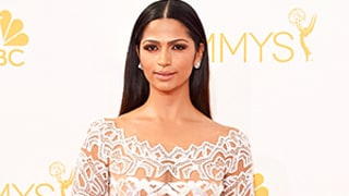 Camila Alves Kills It on the 2014 Emmys Red Carpet in Sheer Dress With Matthew McConaughey: Picture