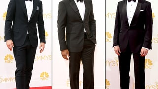 Men in Tuxes at the 2014 Emmys Red Carpet