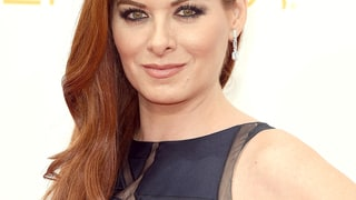Debra Messing's Blue Smoky Eye