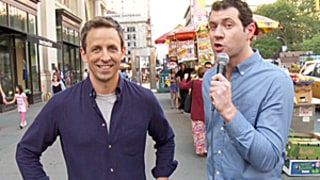 Billy on the Street's Emmys 2014 Edition With Billy Eichner, Seth Meyers: Watch the Hilarious Clip
