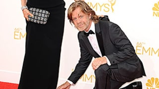 William H. Macy and Felicity Huffman Were the Cutest Couple Ever at the Emmys -- See the Sweet GIF, Pics
