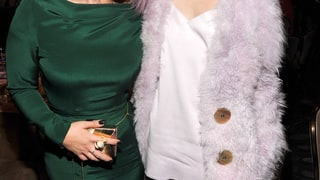 Miley Cyrus and Kelly Osbourne