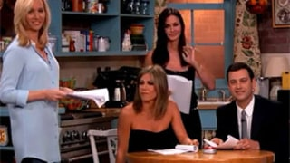 Jennifer Aniston, Lisa Kudrow, Courteney Cox have Friends Reunion on Jimmy Kimmel Live, Watch Amazing Skit!