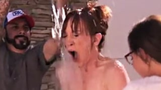 Kathy Griffin, 53, Does ALS Ice Bucket Challenge Naked: Watch the Hilarious Video!