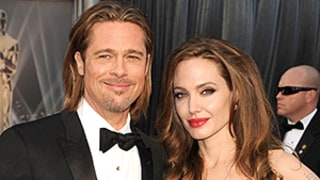 Angelina Jolie Walked Down the Aisle to Brad Pitt Humming
