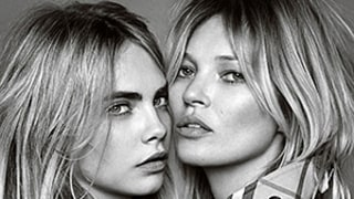 Cara Delevingne and Kate Moss Look Gorgeous in New Burberry Fragrance Campaign
