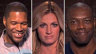 Jimmy Kimmel Live Does Mean Tweets NFL Edition With Michael Strahan, Erin Andrews and More