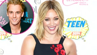 Hilary Duff: Aaron Carter