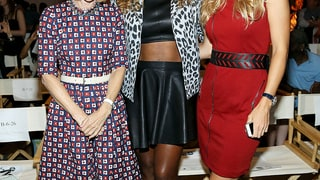 Anna Wintour, Serena Williams, and Caroline Wozniacki