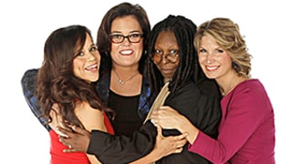 The View New Cast Photo Shoot: Rosie O'Donnell, Rosie Perez, Nicolle Wallace, Whoopi Film Promo