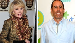 Jerry Seinfeld Reveals Joan Rivers Was to be Lead Guest on Comedians In Cars Getting Coffee,