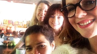 Sisterhood of the Traveling Pants Stars America Ferrera, Amber Tamblyn, Blake Lively, Alexis Bledel Reunite Over Brunch: Photo
