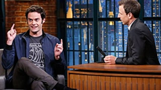 Seth Meyers, Bill Hader Held Hands, Cried When Saying Goodbye to Stefon