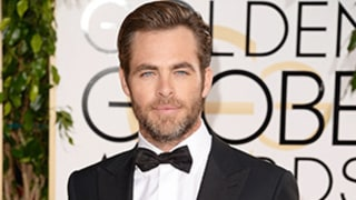 Chris Pine Flashes Bare Butt, Has Scraggly Beard in New Film Stretch: Watch an Outtake!