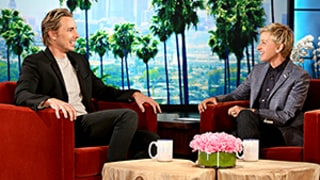 Dax Shepard Shows Off Bell Tattoo, Talks Baby No. 2 With Ellen DeGeneres
