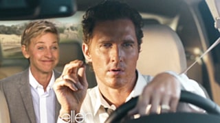 Ellen DeGeneres Hilariously Spoofs Matthew McConaughey's Lincoln Car Commercial