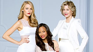 Blake Lively, Zoe Saldana, Eva Longoria, and More A-Listers Model L'Oreal's Pure Reds Lipstick Collection