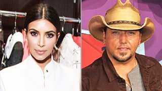 Kim Kardashian Shoved by Red Carpet Prankster Vitalii Sediuk; Jason Aldean Engaged to Brittany Kerr: Top 5 Stories