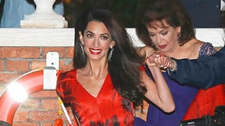 George Clooney, Amal Alamuddin Kick Off Wedding Festivities With Anna Wintour, Matt Damon, Emily Blunt and More -- See All the Pictures!