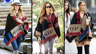 How to Wear a Cape Like Rosie Huntington-Whiteley, Sarah Jessica Parker and Olivia Palermo: Try the Trend Without Looking Like You're Wearing a Blanket