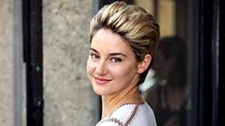 Shailene Woodley Lightens Her Pixie to a Brighter Blonde: See the Pictures From the Miu Miu Fashion Show