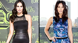 Megan Fox Flaunts Her Sexy Body in Chic Separates, Then a Gown on Red Carpet in Less Than 24 Hours in Berlin