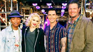 Gwen Stefani, Pharrell Williams Analyze Blake Shelton, Adam Levine's Bromance on The Voice: