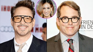 Robert Downey Jr. Asks Matthew Broderick's Permission to See Ex-Girlfriend Sarah Jessica Parker