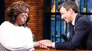 Retta Gives Hilarious Interview to Seth Meyers: Loves Dad Dance Moves, Live-Tweeting