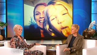 Pink Tells Ellen DeGeneres That Daughter Willow Is Wild, Has a Potty Mouth