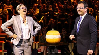 Shailene Woodley, Jimmy Fallon Make a Pumpkin Explode on The Tonight Show: Watch Now!