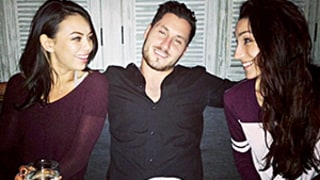 Janel Parrish, Val Chmerkovskiy Hit the Town With Meryl Davis, Maks Chmerkovskiy: Pictures
