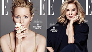 Elizabeth Banks, Jessica Lange, and More Land Elle Women in Hollywood Covers: Pictures