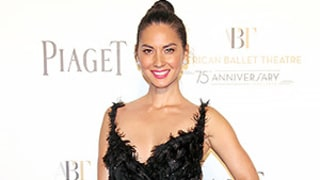 Olivia Munn's Feather Dress Looks Like Natalie Portman's in Black Swan: See the Ballerina Frock!
