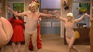 Jim Carrey Hosts Saturday Night Live, Dances to Sia's