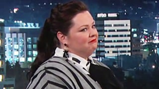 Melissa McCarthy Was Robbed at Gunpoint at Dry Cleaners: Watch Her Tell Jimmy Kimmel