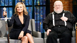 Amy Poehler Hilariously Grills George R.R. Martin on His Game of Thrones Knowledge