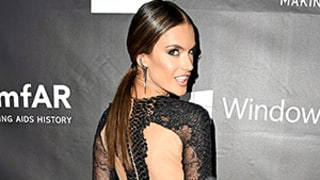 Alessandra Ambrosio Is Clearly Not Wearing Underwear in Sexy Sheer Dress: See the Gown From All Angles