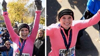 Caroline Wozniacki Finishes NYC Marathon in Under Four Hours, Teri Hatcher Gets Support From Daughter Emerson: Pictures
