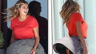 Kate Upton's Wardrobe Malfunction: She Has a Marilyn Monroe Moment and Flashes Her Bare Bottom on the Set of a Photo Shoot!