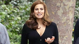 Eva Mendes Makes First Post-Pregnancy Appearance, Looks Slim in All-Black Ensemble Just Six Weeks After Welcoming Baby With Ryan Gosling