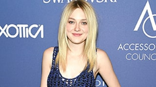 Dakota Fanning Wears a Bra and Hot Pants Under Completely Sheer Netted Dress on the Red Carpet: Hot or Not?